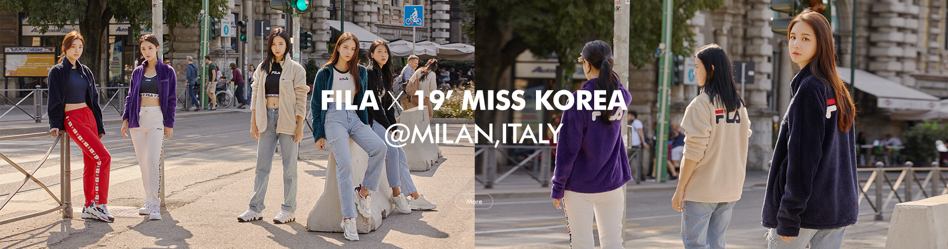 FILA X 19` MISS KOREA