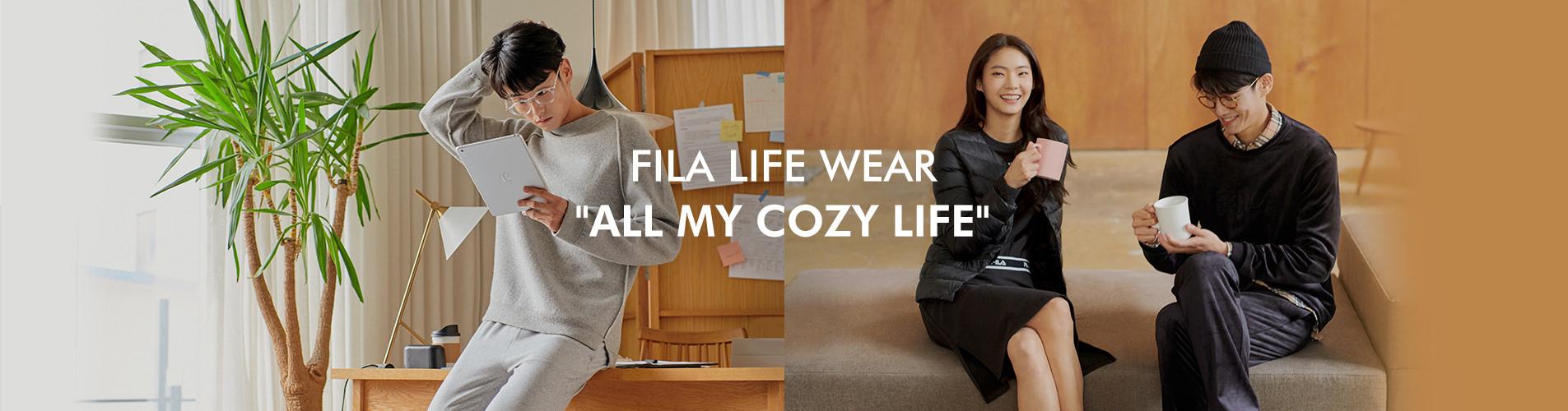 FILA LIFE WEAR ALL MY COZY LIFE