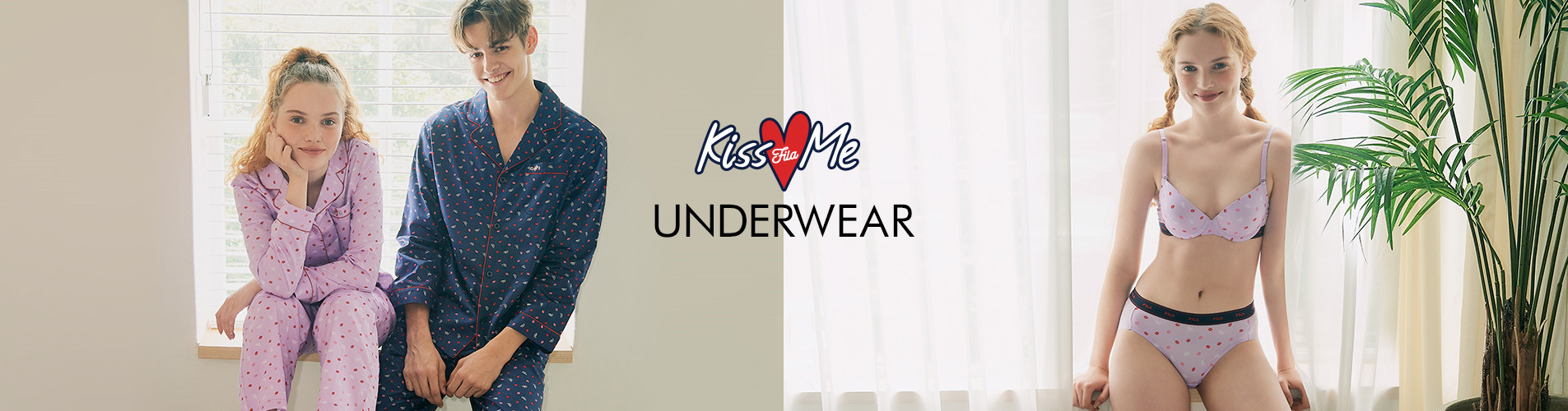 KISS ME UNDERWEAR<br> #PLAY AT HOME