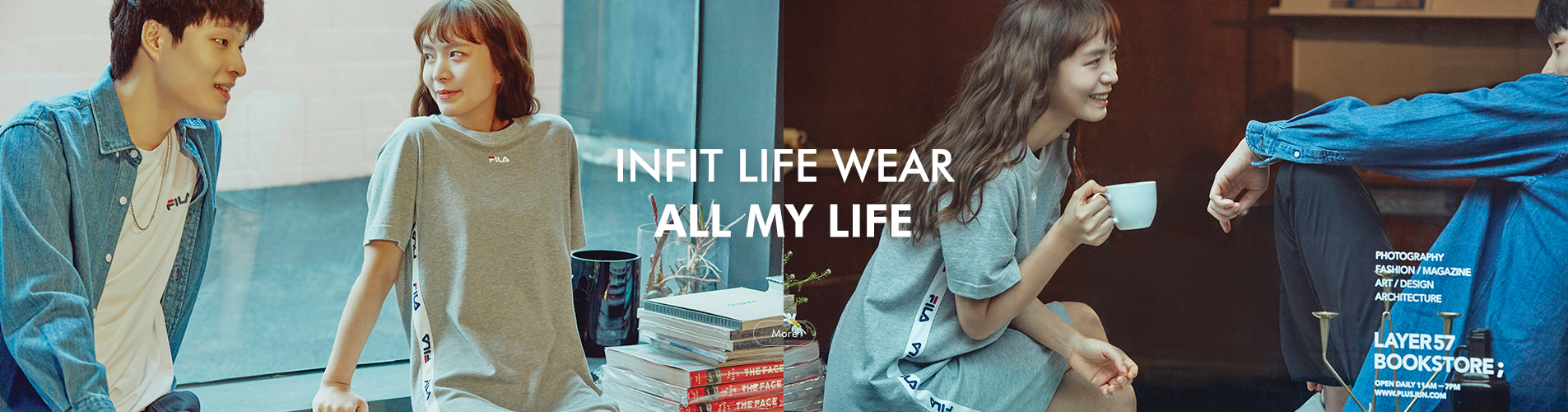 INFIT LIFE WEAR ALL MY LIFE