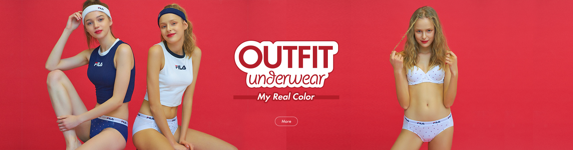 OUTFIT UNDERWEAR 'MY REAL COLOR'
